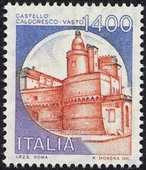 «Castelli d'Italia» - Serie ordinaria - Caldoresco , Vasto