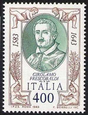 4° Centenario della nascita di Girolamo Frescobaldi, musicista - ritratto