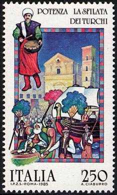 Folclore italiano - La sfilata dei Turchi - Potenza