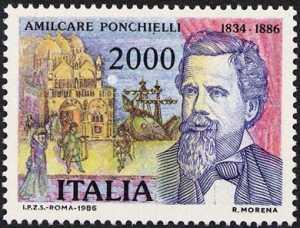 Centenario della morte di Amilcare Ponchielli - ' La Gioconda'