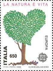 Europa - 31ª serie - Protezione della natura e dell'ambiente - «La natura è vita »