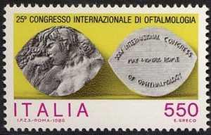 25° Congresso internazionale di Oftalmologia - L. 550