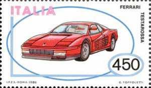 Costruzioni automobilistiche italiane - Ferrari Testarossa