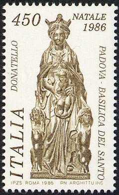Natale - bronzo di Donato di Betto Bardi detto Donatello - «Madonna col Bambino»