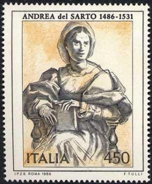 Arte italiana - Andrea del Sarto  - disegno