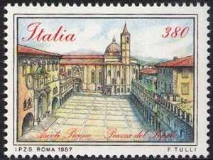 Piazze d'Italia - Piazza del Popolo - Ascoli Piceno