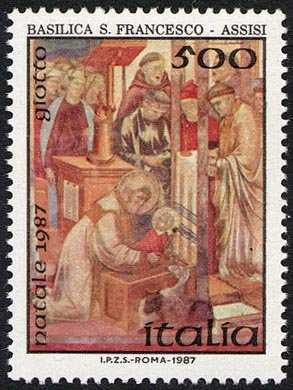 Natale - «Il Presepio»  - Giotto - Basilica di S. Francesco ( Assisi )