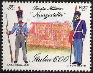 Bicentenario della fondazione della scuola militare «Nunziatella» a Napoli