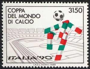 Lo sport italiano - Coppa del mondo di calcio «Italia '90»   - Mascotte