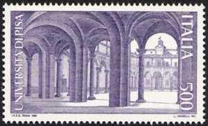«Scuole d'Italia» - Università di Pisa - atrio dell'Università