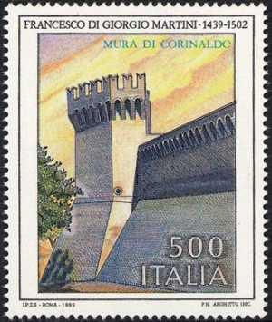 Patrimonio artistico e culturale italiano - Francesco di Giorgio Martini - architetto - Mura di Corinaldo