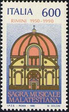 40° Anniversario della Sagra Musicale Malatestiana di Rimini - Tempio Malatestiano