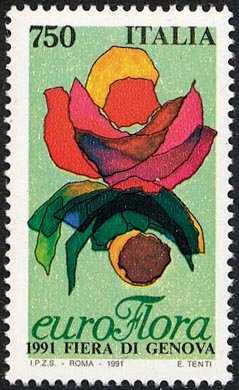 «Euroflora '91» - Esposizione floreale a Genova