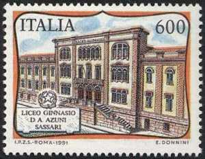 «Scuole d'Italia» - Liceo Ginnasio D.A. Azuni  - Sassari - facciata