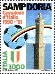 Sampdoria campione d'Italia 1990-91