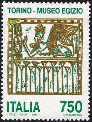 Patrimonio artistico e culturale italiano - Museo Egizio di Torino -«Sfinge alata»