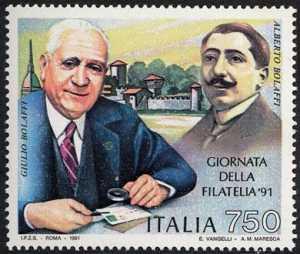 Giornata della filatelia - Omaggio a Giulio ed Alberto Bolaffi