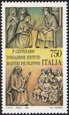 3° Centenario della fondazione dell'Istituto delle Maestre Pie Filippini  - S. Lucia Filippini