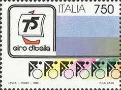 75° Giro ciclistico d'Italia - logo a sinistra