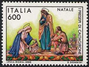 Natale - I Presepi di Caltagirone - statuette in terracotta