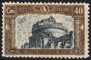 1926 - Pro opera di previdenza M.V.S.N. - 1ª serie - Castel Sant'Angelo