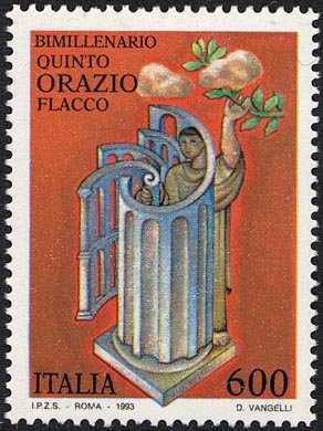 Bimillenario della morte di Quinto Orazio Flacco -poeta latino
