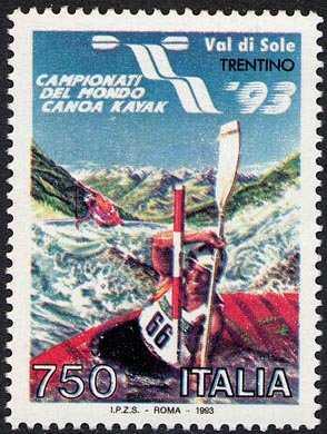 Campionati del mondo di canoa Kayak in Val di Sole , Trentino