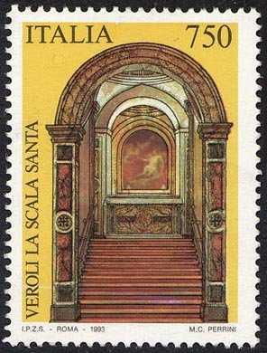 Patrimonio artistico e culturale italiano - Scala Santa di Veroli della Basilica di S. Salome