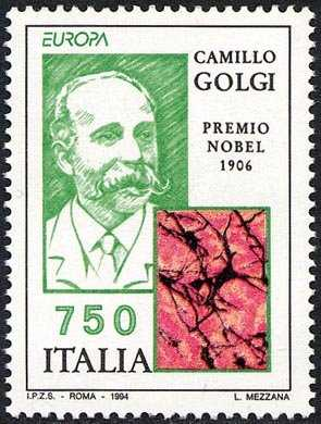 Europa  - L'Europa e le scoperte - Premi Nobel Italiani - Camillo Golgi - Nobel medicina 1906