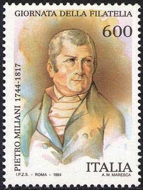 Giornata della filatelia - Omaggio a PietroMiliani  - incisore