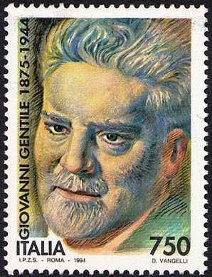 Cinquantenario della morte di Giovanni Gentile - ritratto del filosofo