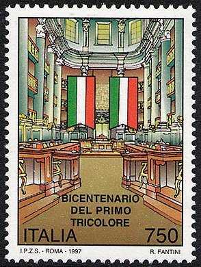 Bicentenario del primo tricolore - Sala del Tricolore - Reggio Emilia