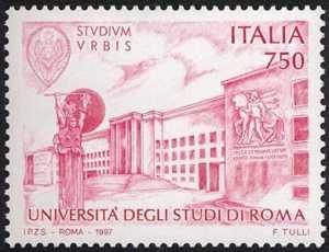 «Scuole d'Italia» - Università degli Studi «La Sapienza» di Roma - piazza centrale