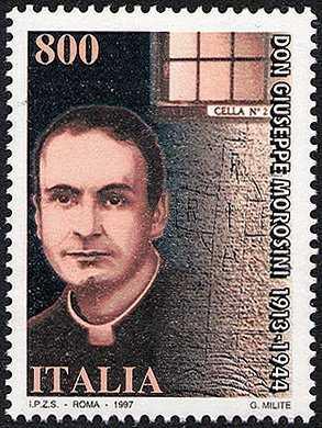 53° Anniversario della morte di Don Giuseppe Morosini - ritratto