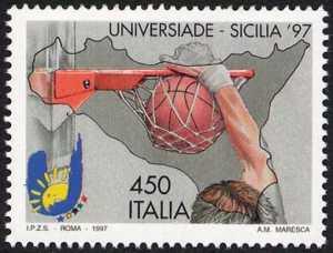 Lo sport italiano - Universiade 1997 in Sicilia - pallacanestro