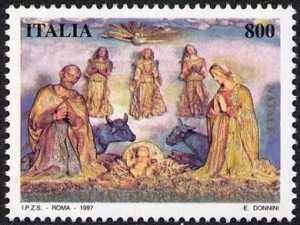 Natale - Presepe artistico Chiesa di S. Francesco a Leonessa