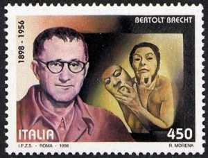 Centenario della nascita di scrittori celebri - Bertolt Brecht