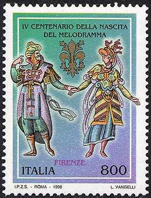 Il melodramma ed il teatro lirico italiano - antichi costumi teatrali
