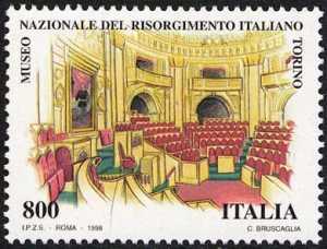 Patrimonio artistico e culturale italiano - I tesori dei musei nazionali - Museo del Risorgimento a Torino - Aula del 1° Parlamento Italiano