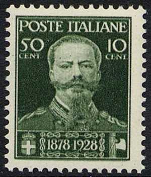 1929 - 50° Anniversario della morte di Vittorio Emanuele II