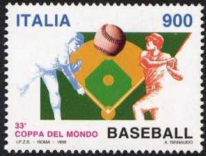 «Lo sport italiano» - 33ª Coppa del Mondo di Baseball