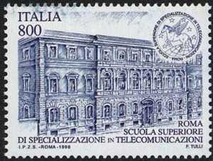 «Scuole d'Italia» - Scuola Superiore di Specializzazione in Telecomunicazioni - Roma - sede storica
