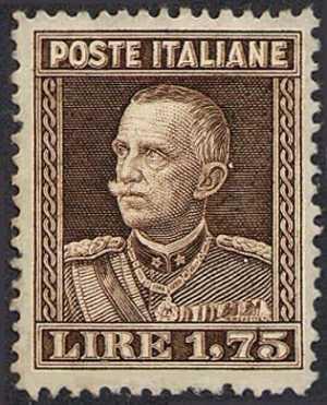 1929 - Effige di Vittorio Emanuele III