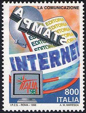 «Italia '98» - Esposizione mondiale di Filatelia, Milano - «Giornata della Comunicazione»