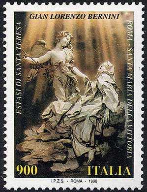 Patrimonio artistico e culturale italiano - 4° Centenario della nascita di Gian Lorenzo Bernini - «Estasi di Santa Teresa» - scultura