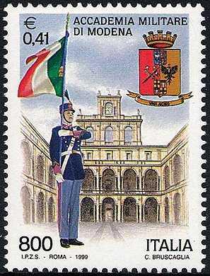 «Le Istituzioni» - Accademia Militare di Modena - il Cortile d'Onore