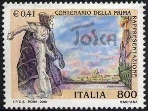 Centenario della prima rappresentazione dell'opera lirica «Tosca»