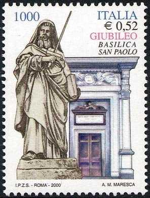 Celebrativo del Giubileo - Porta Santa della Basilica di S. Paolo Fuori le Mura