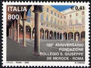 150° Anniversario del Collegio San Giuseppe in Roma - il cortile interno
