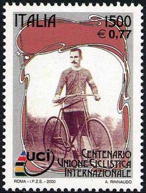Lo sport italiano - Centenario dell'Unione Ciclistica Internazionale - ciclista del primo novecento